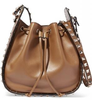 Valentino The Rockstud Bucket Shoulder Bag