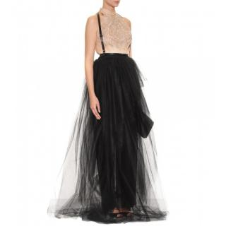Jason Wu Embellished Silk & Tulle Ball Gown