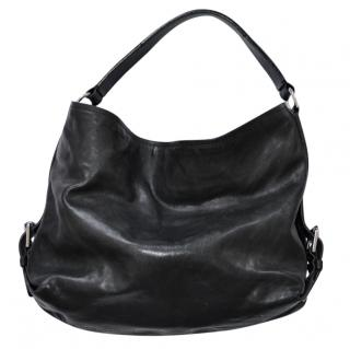 fda3d13fa5 Ralph Lauren black leather bag