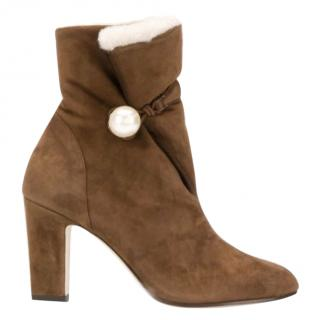 Jimmy Choo Bethanie suede ankle boots