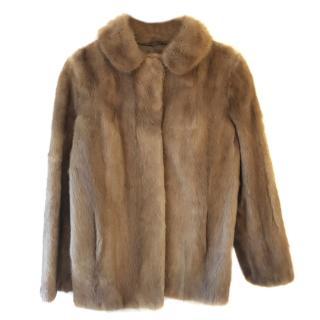 Bespoke Mink Fur Coat