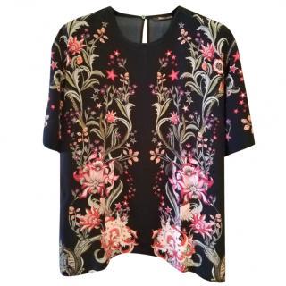 Roberto Cavalli Silk Galaxy Collection Top