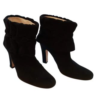 Amanda Wakeley Black Suede Boots
