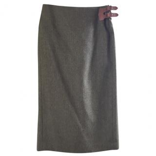 Ralph Lauren tweed skirt.