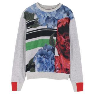 Preen by Thornton Bregazzi floral-print cotton sweatshirt