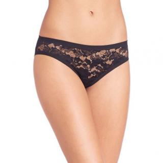 Wolford Clair Lace Panty in Black