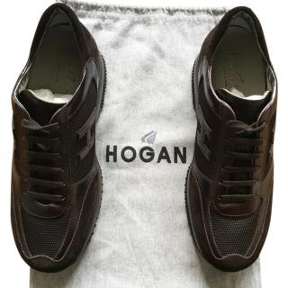 Hogan Men's Brown Sneakers