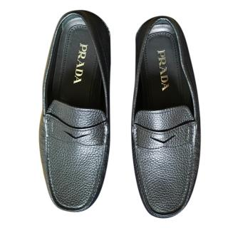 Prada Men's Black Loafers