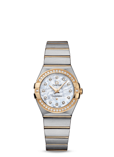 Omega Constellation 27mm Diamond Watch
