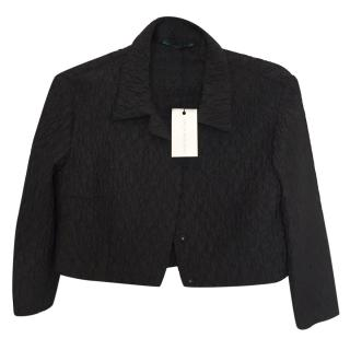 Emilia Wickstead Black Textured Jacket