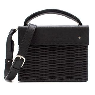 Wicker Wings Black Kuai Shoulder Bag