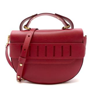 Pannyy Red Soft-Curve Betula Boat Bag