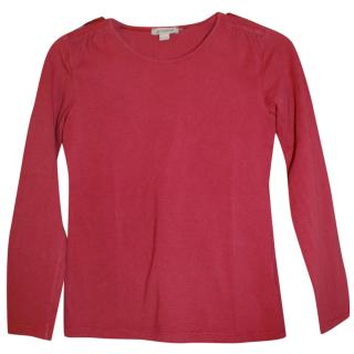 Burberry Red Bow Top