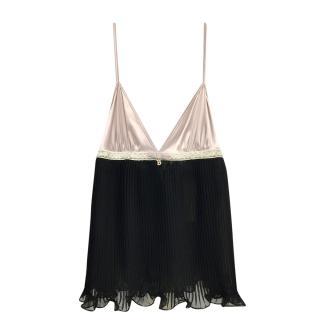 Blumarine Lilac Silk Camisole Top