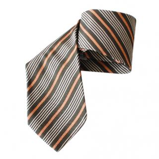 Emporio Armani Striped Silk Tie