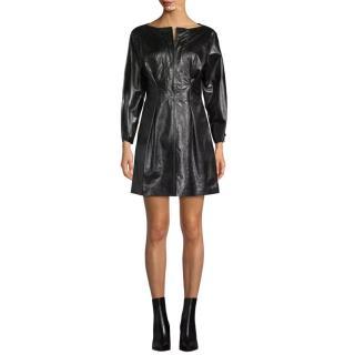 Isabel Marant leather mini dress