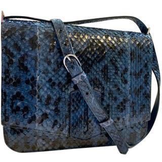 BYREDO - Medium Gita Cross-Body Bag (blue/black)