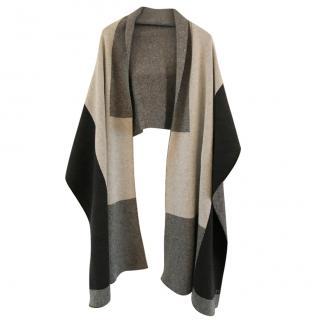 Vince cashmere & wool blanket scarf