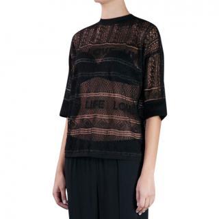 Sonia Rykiel Love life knit top