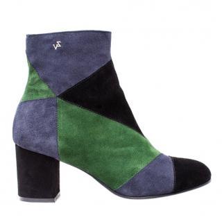 Zadig & Voltaire Lena Patchwork boots