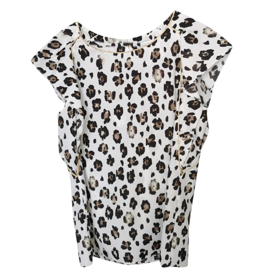 Claudie Pierlot leopard print blouse