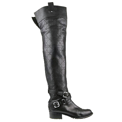 Dior Tall biker boots, eu 39