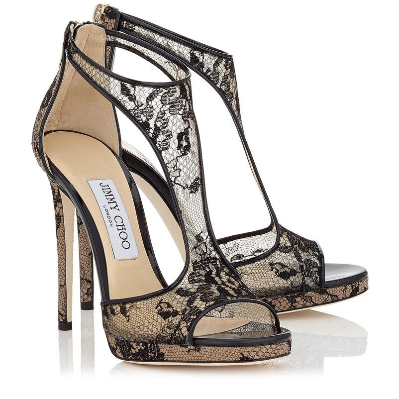 37abf5297798 Jimmy Choo Lana Lace 120 Sandals