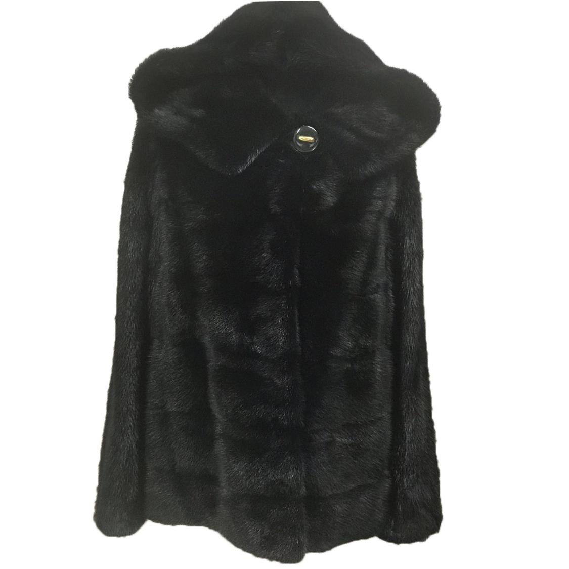 Black mink kopenhagen fur
