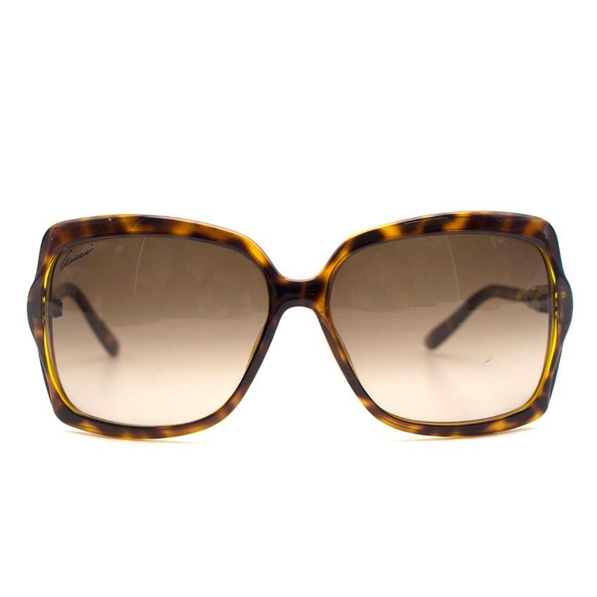14372b65285 Gucci Bamboo Squareframe Sunglasses