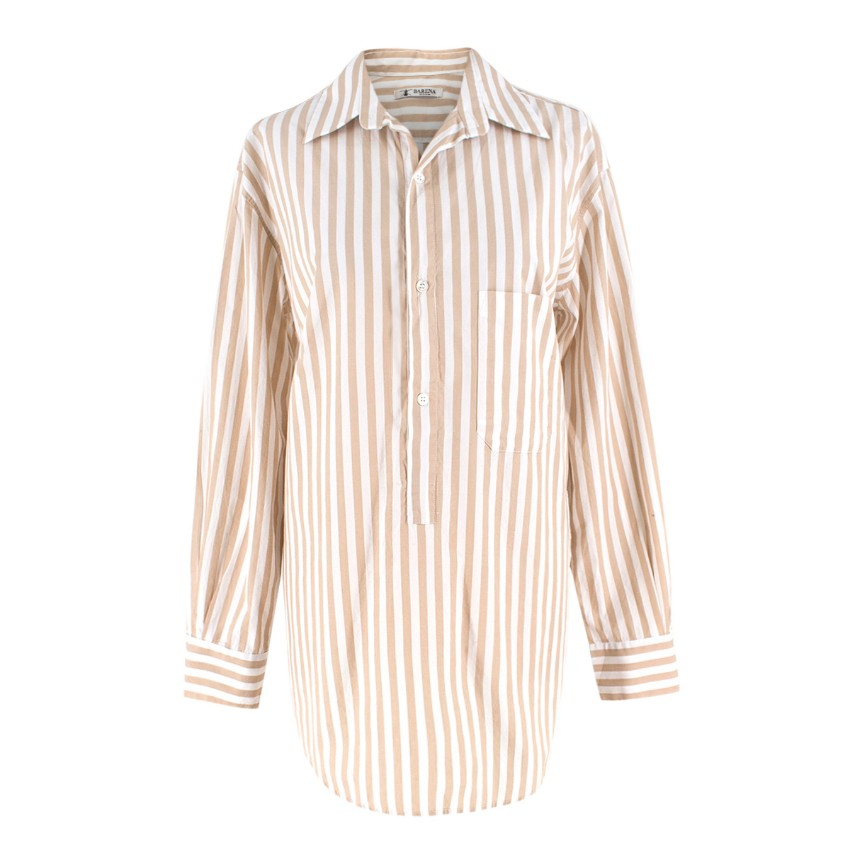 Barena Striped Oversize Shirt