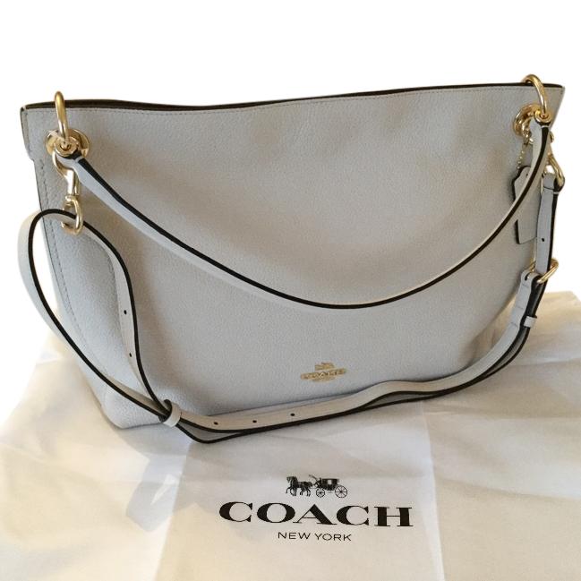 Coach Cream Leather Hobo Bag   HEWI London 5559bf38f3