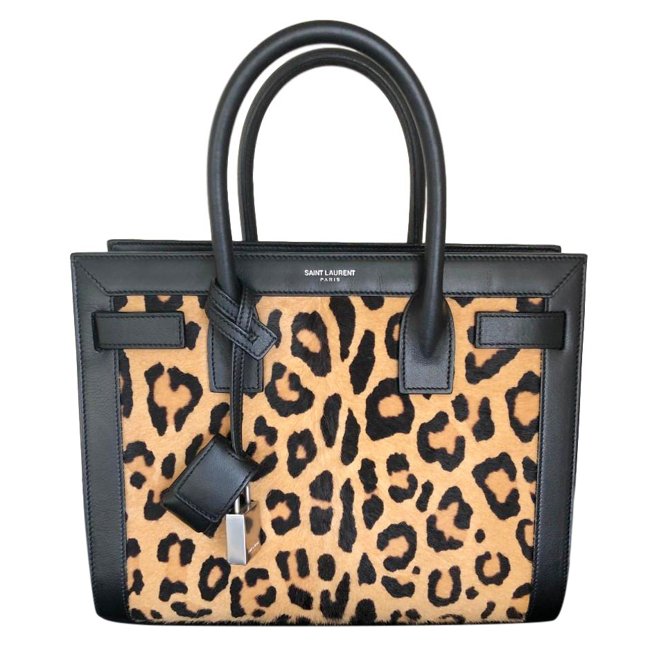 Leopard Laurent De Baby Bag Saint Jour Sac TlJ3FK1c