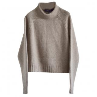 Ralph Lauren Collection cropped cashmere jumper