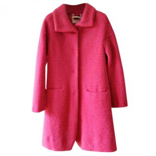 Max & Co Candy Pink Knit coat