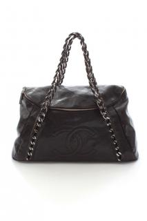 Chanel Soft Caviar Leather Zip Bag