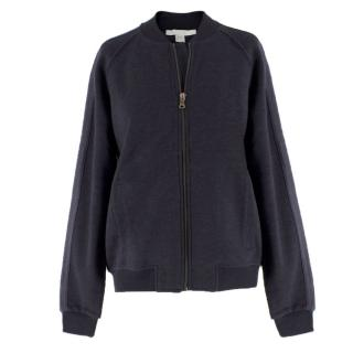 Bamford Charcoal Grey Bomber Jacket