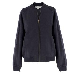 Bamford Charcoal Grey Bomber Jacket