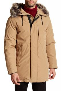 Michael Michael Kors Men's Natural Faux Fur Max Coat