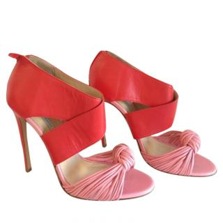 Bionda Castana Pink Knot Box Sandals