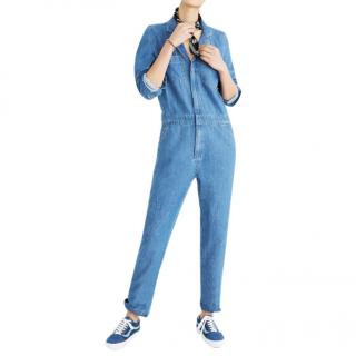 Madewell Bestseller Denim Slim Coverall Jumpsuit