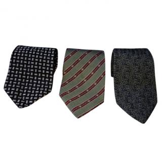 Giorgio Armani Cravatte - 3 Silk Neck Ties