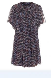 Isabel Marant 'Milly' Silk-Chiffon Printed Dress