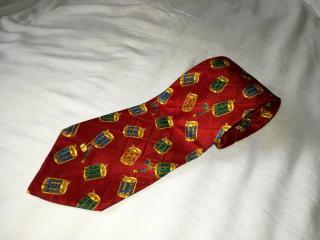 Valentino Cravatte 6185 100% silk red neck tie
