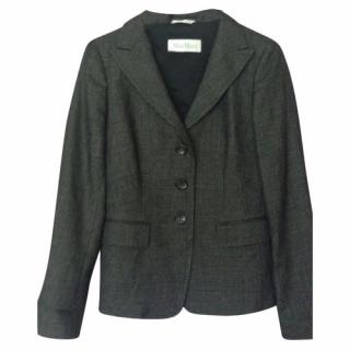 Max Mara Checked Jacket