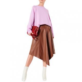 Tibi lilac-pink cashmere sweater - New Season