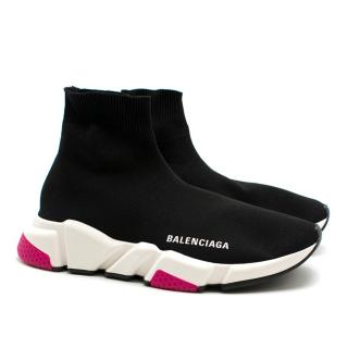 Balenciaga Speed high-top knit trainers - New Season Sold Out