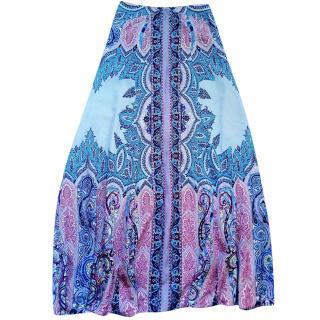Etro paisley silk long skirt- never worn