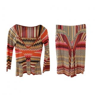Missoni two piece skirt and top