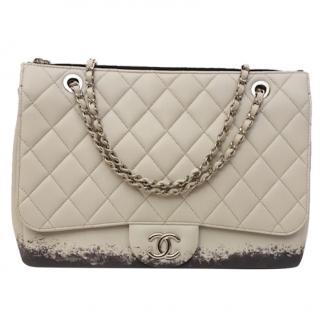 Chanel Flap Grey Splatter handbag