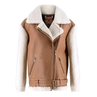 Moose Knuckles nutana shearling jacket - Current Season